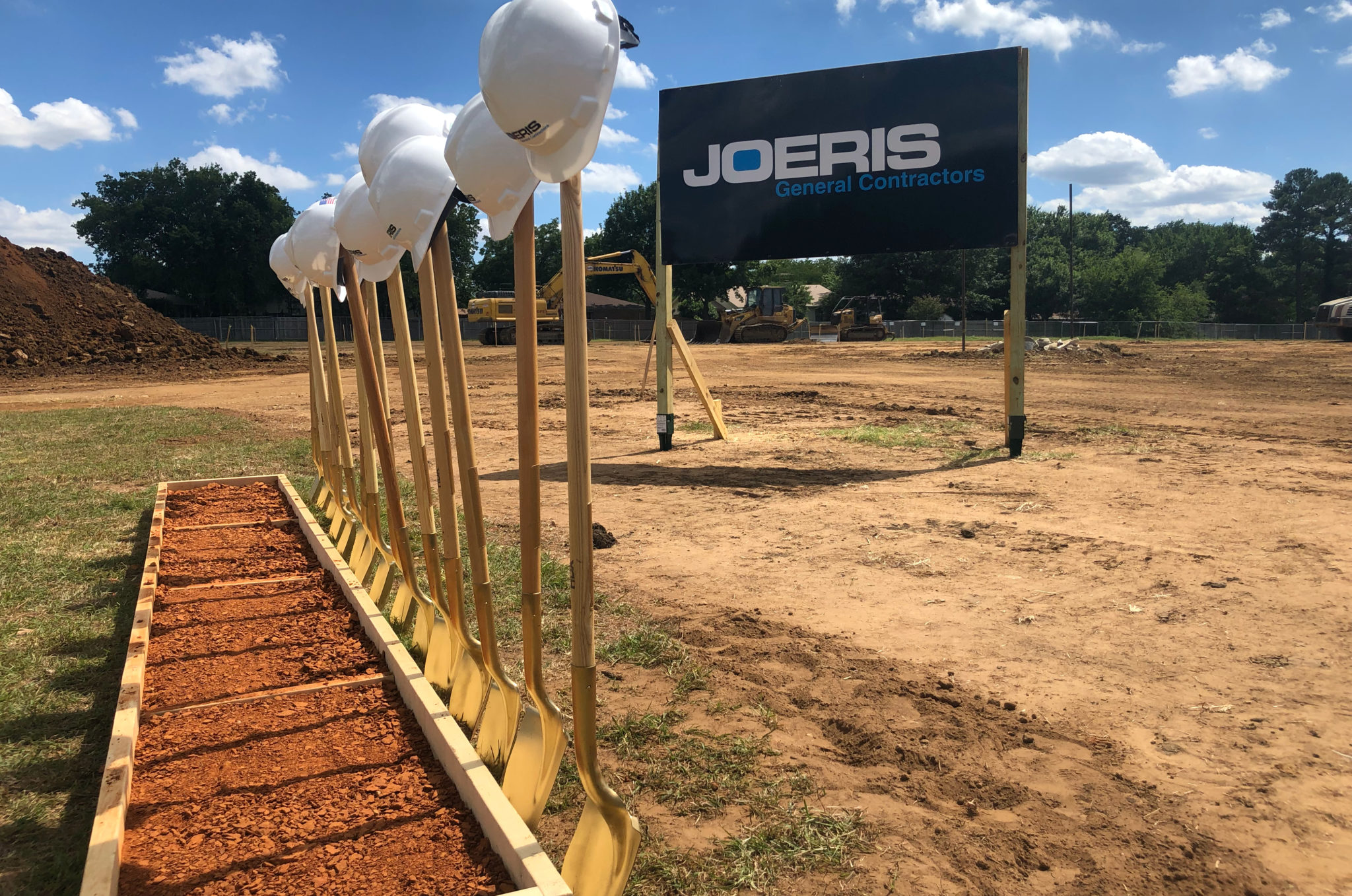 Breaking ground at a new jobsite