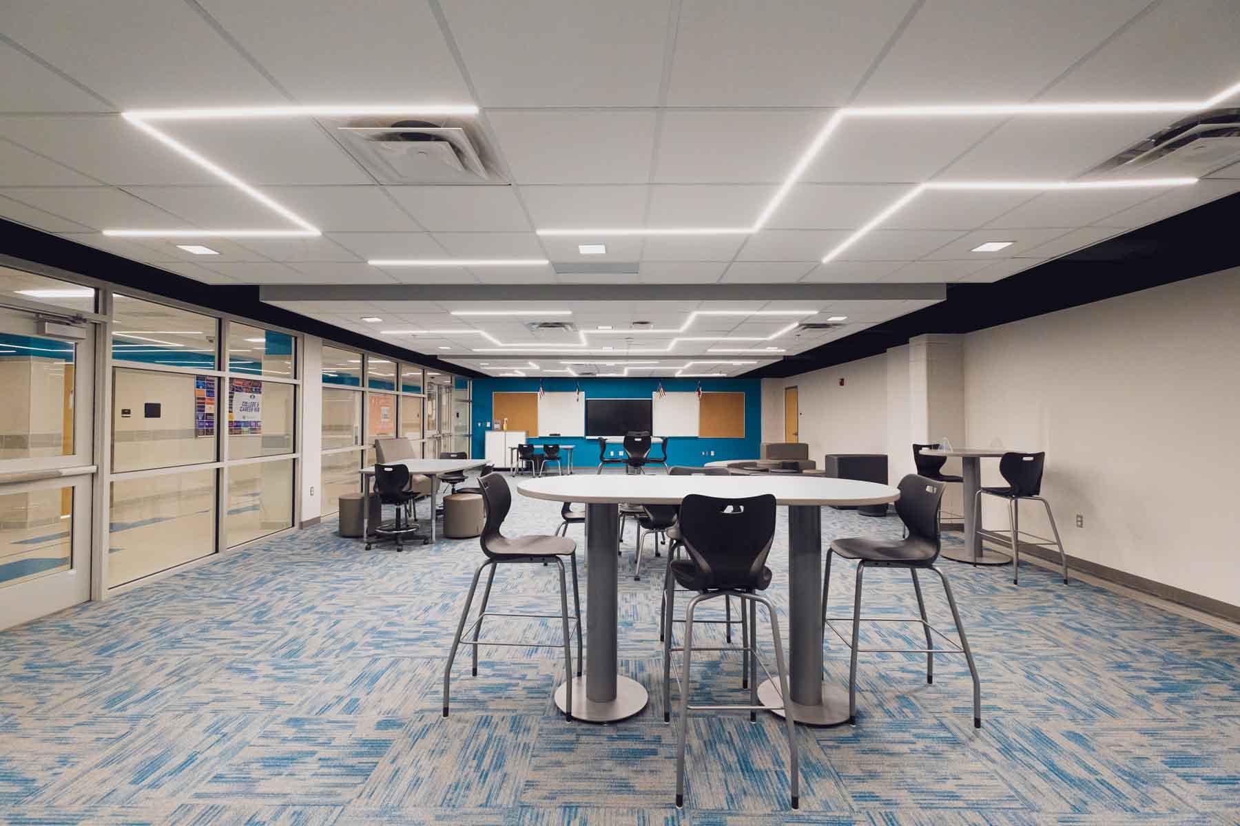 Collaboration Area, Sam Houston Hight School Renos