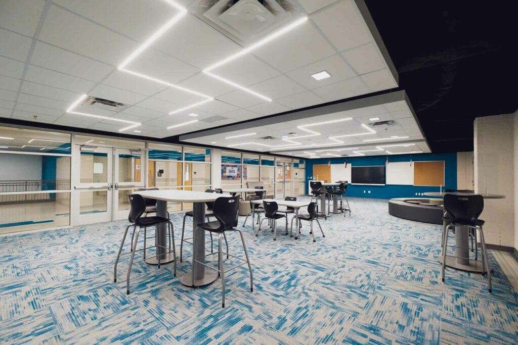 Collaboration Area, Sam Houston High School Renos
