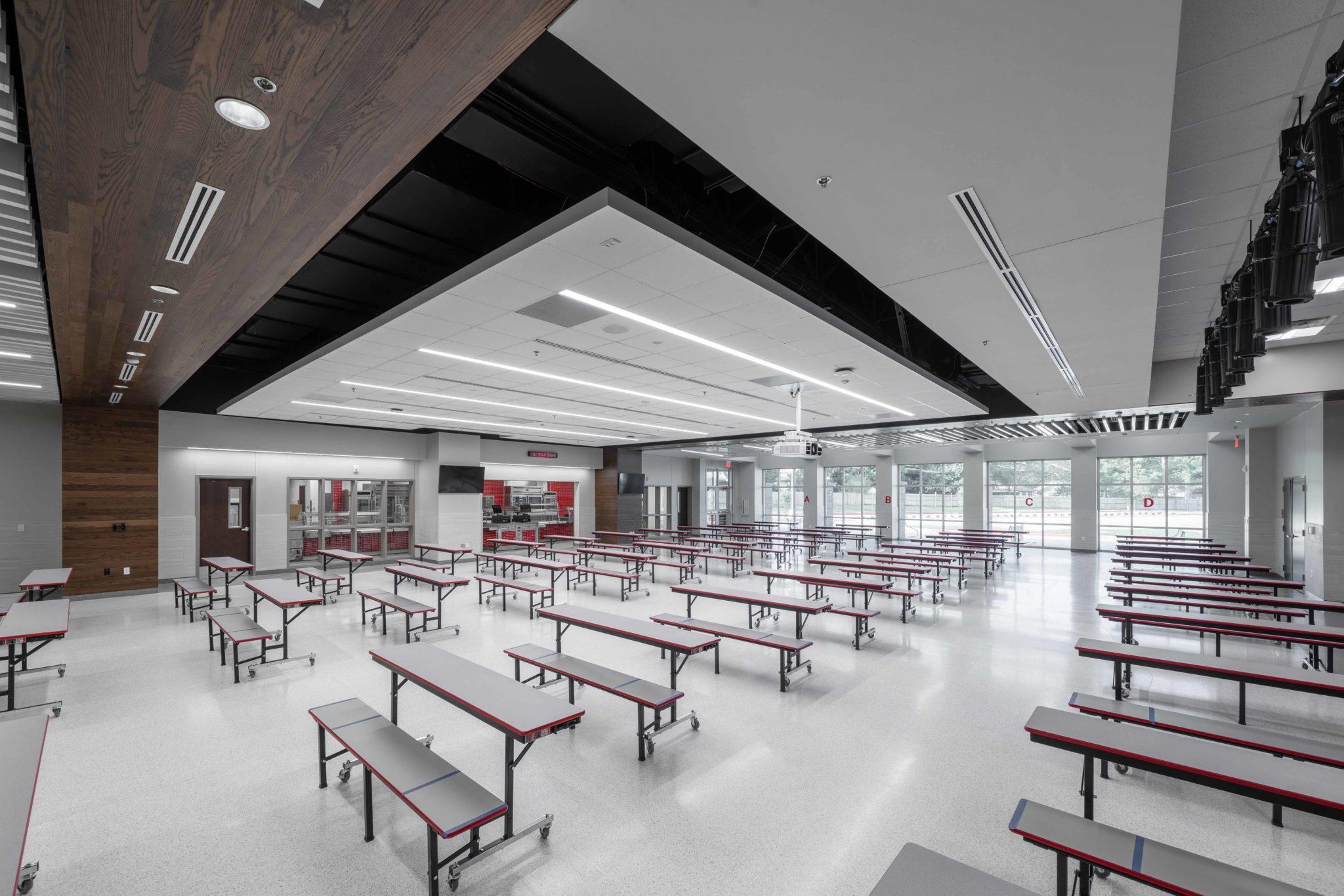 HEB ISD Arbor Creek Elementary Cafetorium