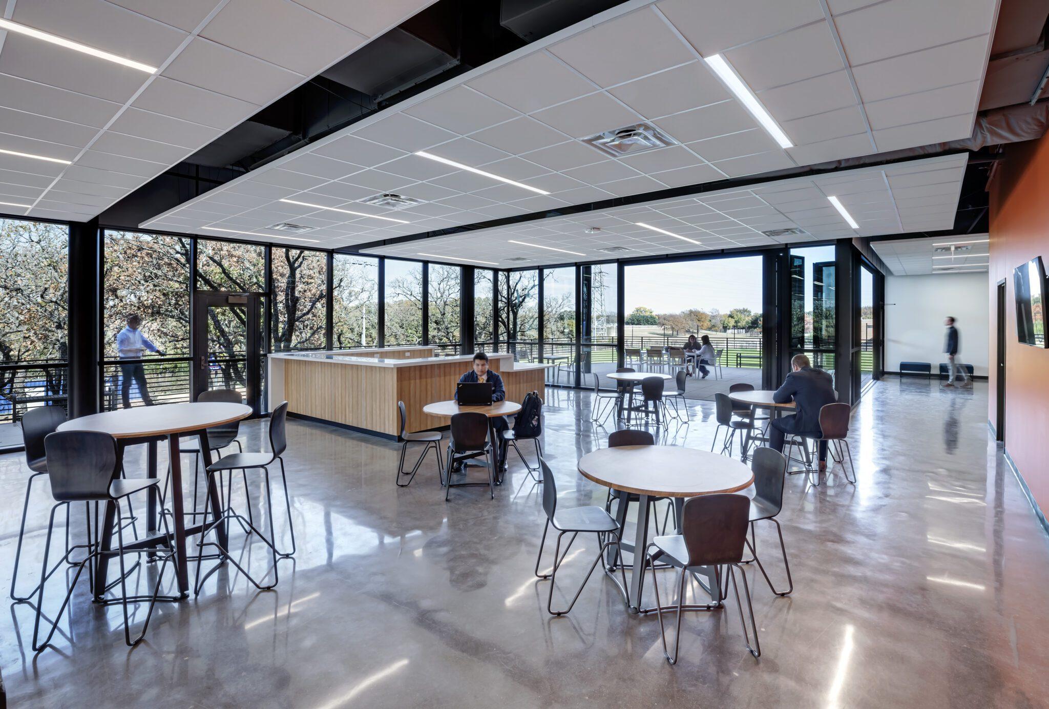 Cristo Rey Dallas Innovation Center, 2nd Floor Seating