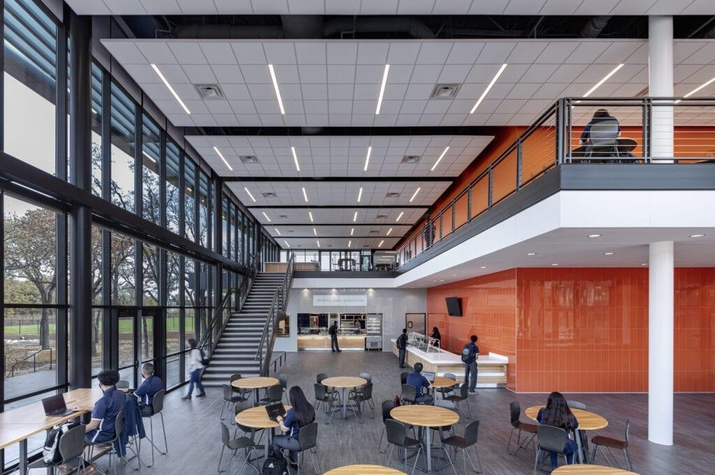 Cristo Rey Dallas Innovation Center, Main Atrium