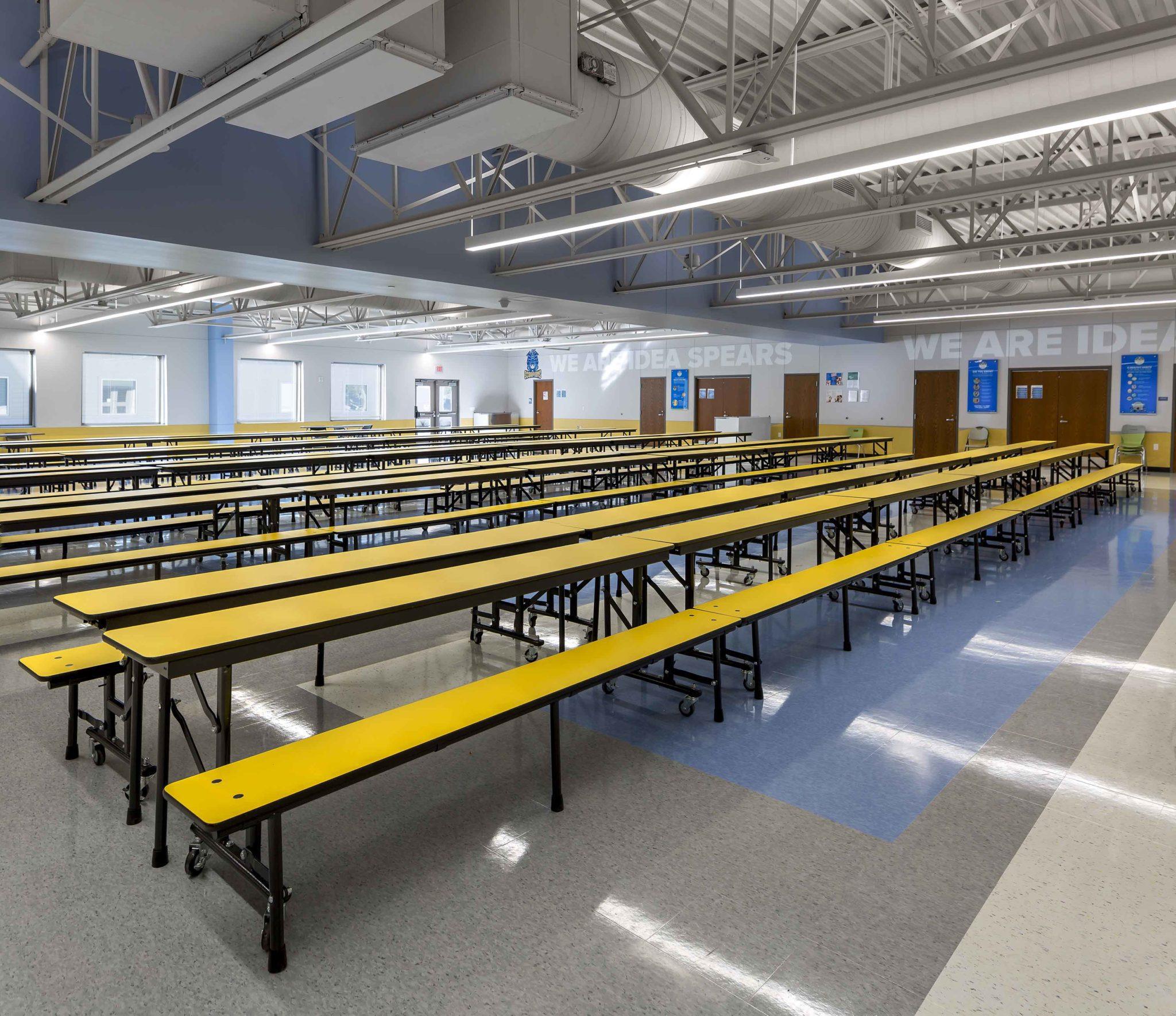 IDEA Spears, Cafeteria