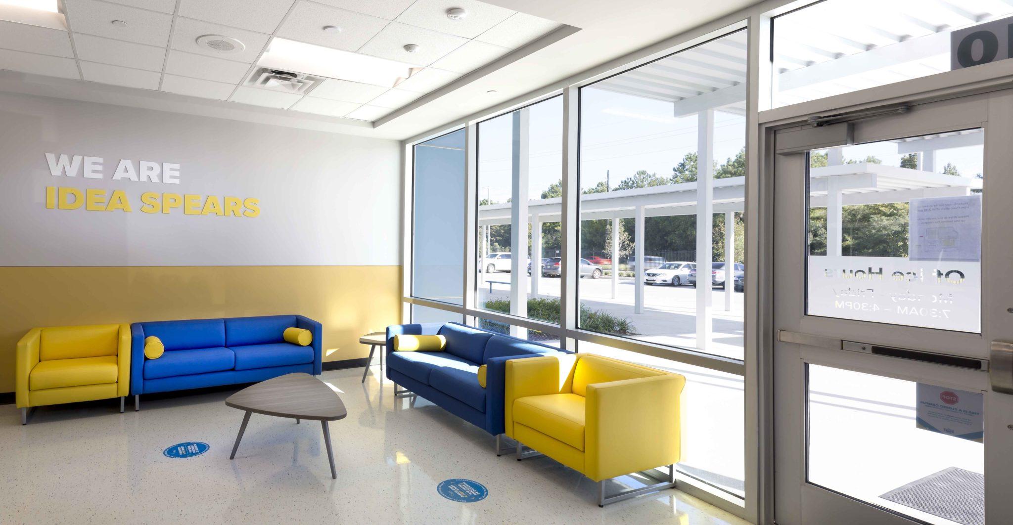 IDEA Spears, Entrance Seating Area