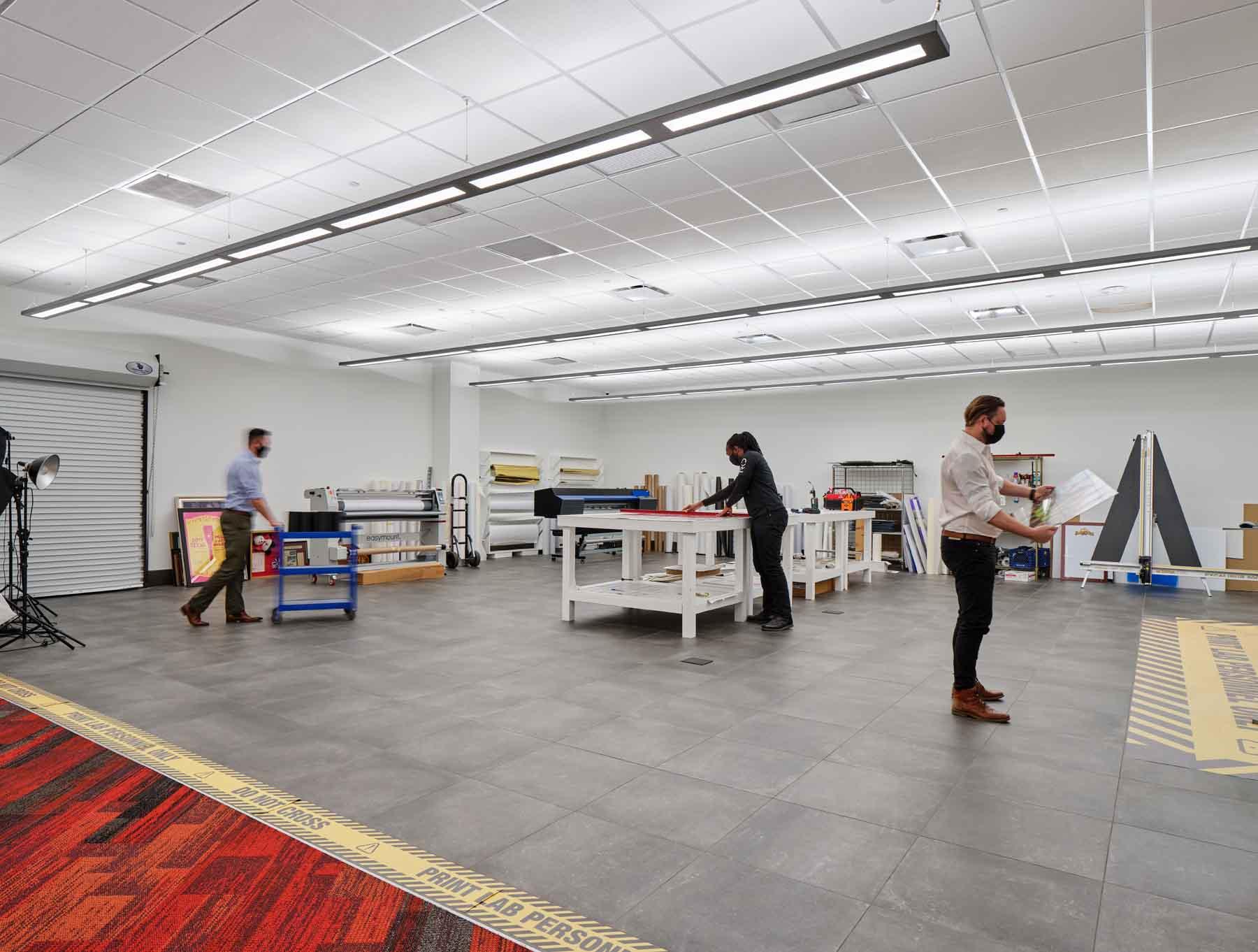 The RK Group HQ Print Shop