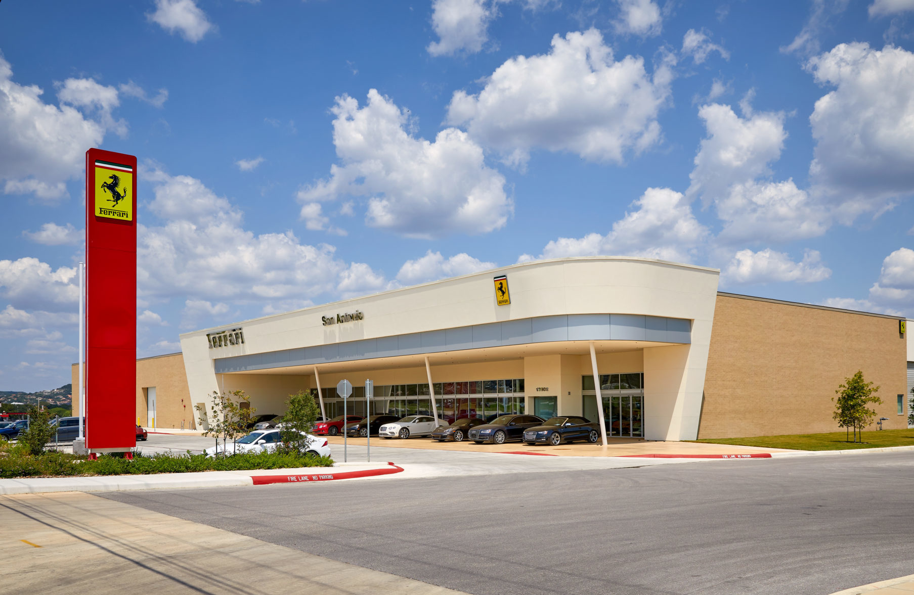 Ferrari Dealership San Antonio Joeris General Contractors