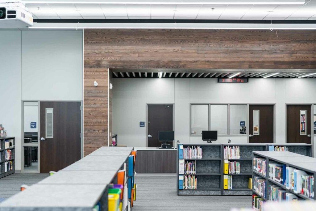 Trinity Lakes Elementary Library