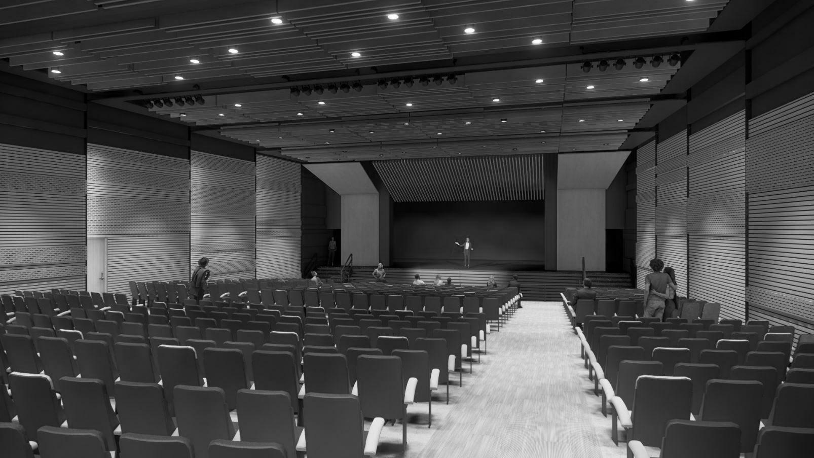 Harlandale HS Auditorium Rendering