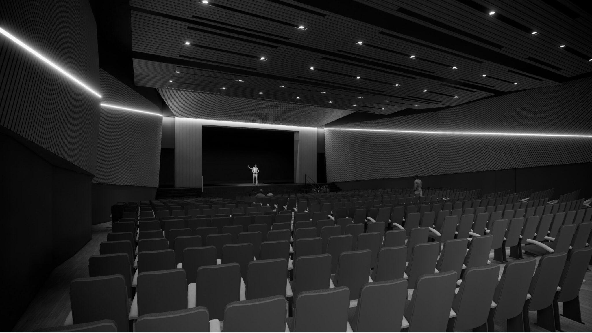 Harlandale ISD McCollum Auditorium Rendering