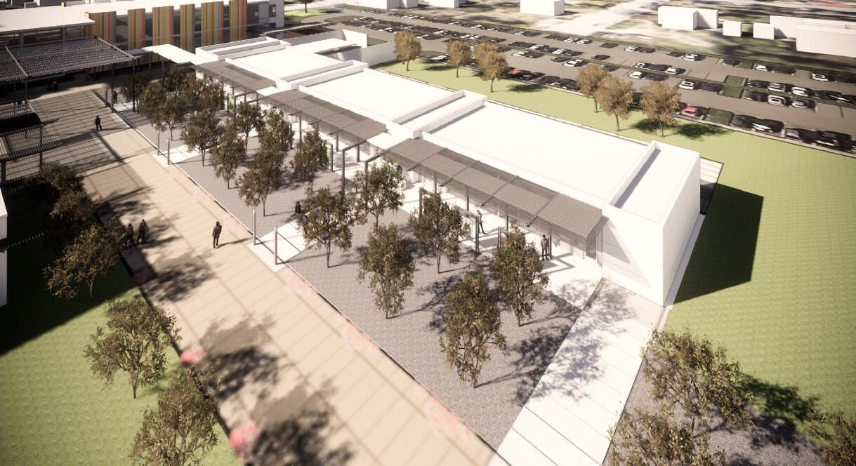 Alamo Colleges Westside Education & Training Center Tree Groves